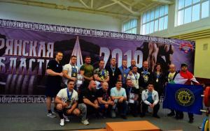 Открытый мастерский турнир по пауэрлифтингу в Брянске