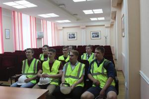 Cтуденты БГТУ посетили Калужский турбинный завод